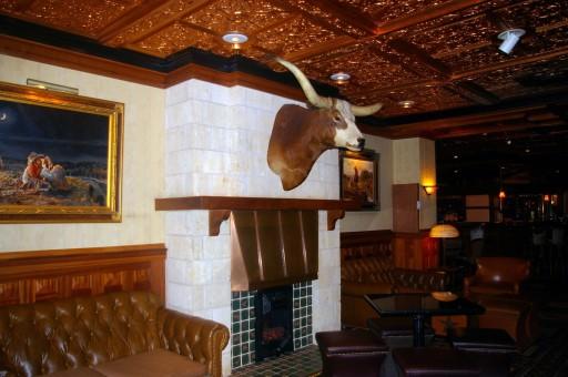 Driskill fireplace